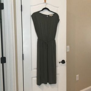 Loft Olive Dress